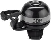 BBB EasyFit Deluxe BBB-14 Dzwonek rowerowy, czarny/szary 2022 Dzwonki BBB 2905051414