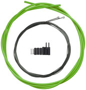 Shimano OPTISLICK Linka przerzutki - zestaw do roweru szosowego, green 2021 Linki przerzutki i pancerze Shimano Y-60198060
