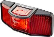 Busch + Müller Toplight Reflektor tylny na dynamo, czarny/czerwony 50mm 2022 Lampki tylne na dynamo Busch + Müller 20425