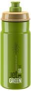 Elite Jet Green Drinking Bottle 550ml, zielony/brązowy 2021 Bidony Elite 257037