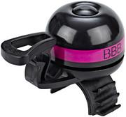 BBB EasyFit Deluxe BBB-14 Dzwonek rowerowy, pink 2020 Dzwonki BBB 2905051417