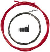 Shimano OPTISLICK Linka przerzutki - zestaw do roweru szosowego, red 2021 Linki przerzutki i pancerze Shimano Y-60198040