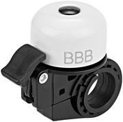 BBB Loud & Clear BBB-11 Dzwonek rowerowy, white 2020 Dzwonki BBB 2905051107