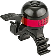 BBB MiniBell BBB-16 Dzwonek rowerowy, black/red 2020 Dzwonki BBB 2905051603