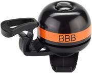 BBB EasyFit Deluxe BBB-14 Dzwonek rowerowy, czarny/pomarańczowy 2022 Dzwonki BBB 2905051415
