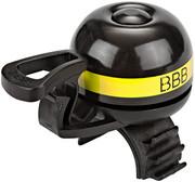 BBB EasyFit Deluxe BBB-14 Dzwonek rowerowy, yellow 2020 Dzwonki BBB 2905051416