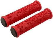 Reverse Stamp Basic Chwyty rowerowe - gripy Ø31mm, czerwony 2022 Chwyty kierownicy Reverse 30808