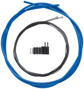 Shimano OPTISLICK Linka przerzutki - zestaw do roweru szosowego, blue 2020 Linki przerzutki i pancerze Shimano Y-60198070