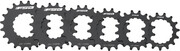 FSA E-Bike Chainring DM for Bosch Gen2 Cr-Mo, czarny 14T 2021 Zębatki przednie do rowerów elektrycznych FSA 10829339