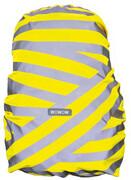 Wowow Berlin Pokrowiec na plecak, silver reflective stripes/yellow 2020 Akcesoria do plecaków i toreb Wowow 2028004950