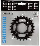 Shimano Deore FC-M522 Zębatka rowerowa 10-rz. AE, black 24T 2020 Zębatki przednie Shimano Y-1N098010