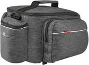 KlickFix Rackpack Sport Luggage Carrier Bag for Racktime, szary 2021 Sakwy KlickFix 0268RSGR