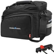 KlickFix Rackpack 2 Plus Torba na bagażnik do systemu Racktime, czarny 2021 Torby na bagażnik KlickFix 0267RB