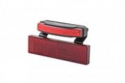 spanninga Pimento XDS Dynamo Rear Light with RR02 Reflector + BR06, czerwony 2020 Oświetlenie rowerowe - zestawy spanninga R673008