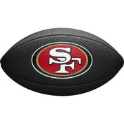 MINI NFL TEAM SOFT TOUCH FB BL SF 2018 Wilson WTF1533BLXBSF