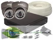 Zestaw: Rejestrator GS-M1004NH-V2 + 2x Kamera GS-CMD4-V GISE Z962