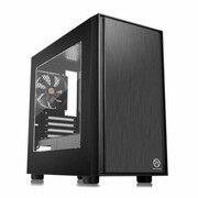 Thermaltake Versa H17 microATX USB3.0 Window - Black Thermaltake CA-1J1-00S1WN-00
