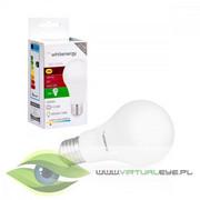 Whitenergy Żarówka LED A60 E27 5W 440lm ciepła biała mleczna Whitenergy 10387