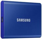 Dysk zewnętrzny SSD Samsung Portable T7 500GB USB 3.2 Niebieski Samsung