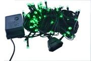 lampki CHOINKOWE LED 100 6m ZIELONY programator