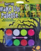 Zestaw farb do twarzy Halloween 8 kolorów Horror
