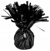 Obciążnik ciężarek do balonów z helem czarny 150g
