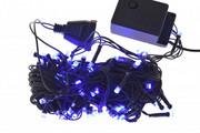 lampki CHOINKOWE LED 100 6m NIEBIESKIE programator