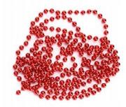 Łańcuch choinkowy świąteczny 350 cm czerwony dekor