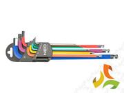 Zestaw kluczy NEO Tools 09-512 sześciokątne, 9 szt.