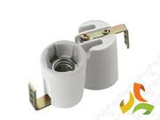 Oprawka E14 ceramiczna z uchwytem, gniazdo żarówki 02173 KANLUX