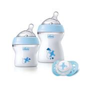 Chicco Zestaw do karmienia dla niemowląt 0m+ Zestaw do karmienia 0m+ niebieski Chicco