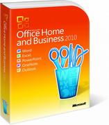 Microsoft Office 2010 Użytkownicy Domowi i Małe Firmy BOX PL