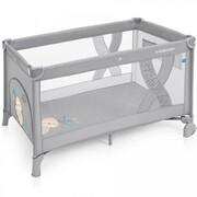 Baby Design Simple - kojec, łóżeczko turystyczne 120x60 | 07a Gray E2D3-614CE Baby Design