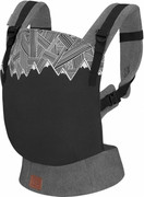Kinderkraft Milo - ergonomiczne nosidełko | Black KKNMILOBLK0000 Kinderkraft