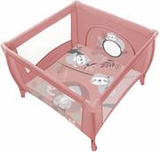 Baby Design Play - lekki i kompaktowy kojec 100x100 cm | 08 Pink 2020 CB09-61138 Baby Design