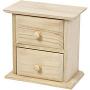 Mimi komoda z drewna 13x7,5x13 cm Creativ