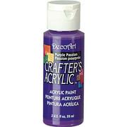 Farba akrylowa Crafter`s Acrylic 59 ml- purpurowa - PUR DecoArt