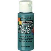 Farba akrylowa Crafter`s Acrylic 59 ml- turkusowa ciemna - TUC DecoArt