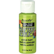 Farba akrylowa Crafter`s Acrylic 59 ml- cytrusowa zieleń - CZN DecoArt