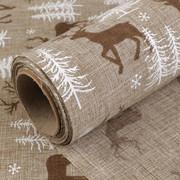 Świąteczna tkanina dekoracyjna CHOINKA - 1m/48cm CreativeHobby