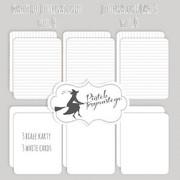 Ozdobne karty do journalingu VOL. 4 - V4 Piątek Trzynastego - P13