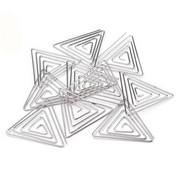 Metalowa baza do biżuterii - trójkąt 35x35 mm - 35X35MM CreativeHobby