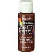 Farba akrylowa Crafter`s Acrylic 59 ml - siena palona - SPA DecoArt