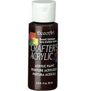 Farba akrylowa Crafter`s Acrylic 59 ml - umbra palona - PAM DecoArt