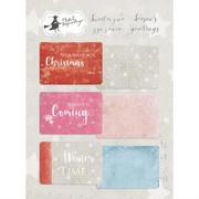 Karty do journalingu Świąteczne Życzenia 10x15 cm - 10X15CM Piątek Trzynastego - P13