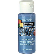 Farba akrylowa Crafter`s Acrylic 59 ml-niebieska tropikalna - TRB DecoArt