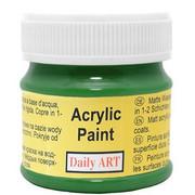 Farba akrylowa zielona 50 ml Daily ART