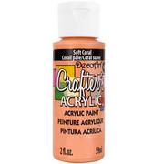 Farba akrylowa Crafter`s Acrylic 59 ml - koralowa - KORA DecoArt