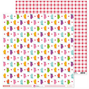 Papier w kuchenne rękawice 30x30 cm En mi cocina - 06 Anita Y Su Mundo