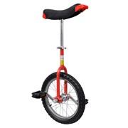 vidaXL Czerwony monocykl, 16 cali vidaXL 90842